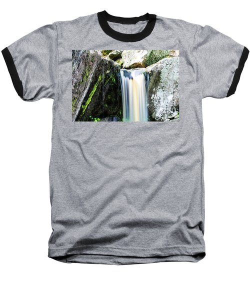 Green Glows On The Falls Baseball T-Shirt