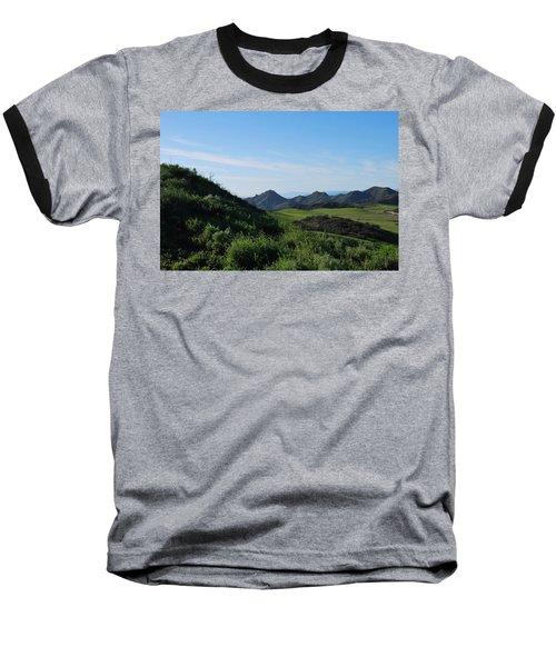 Baseball T-Shirt featuring the photograph Green Hills Landscape by Matt Harang
