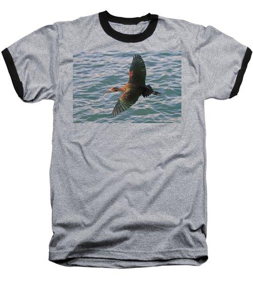 Green Ibis 6 Baseball T-Shirt