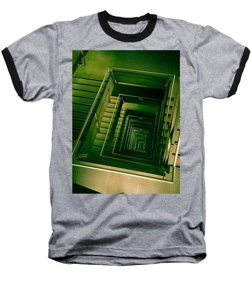 Green Infinity Baseball T-Shirt