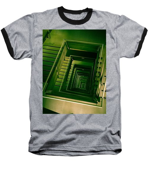 Green Infinity Baseball T-Shirt