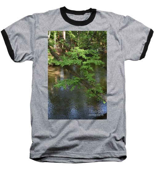 Baseball T-Shirt featuring the photograph Green Is For Spring by Skip Willits