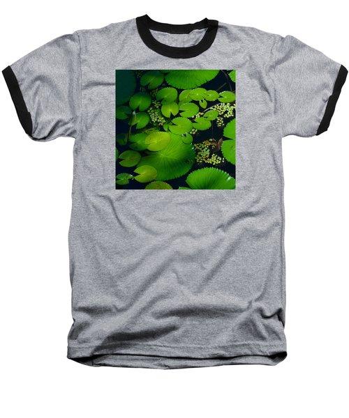 Green Islands Baseball T-Shirt by Evelyn Tambour