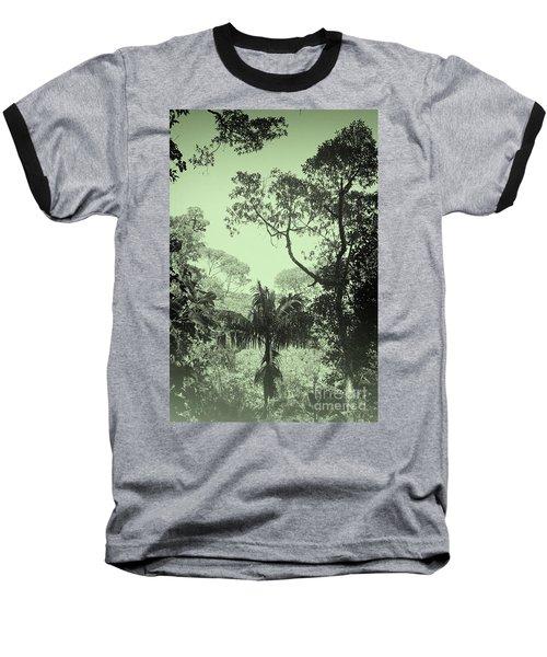 Green Jungle Baseball T-Shirt