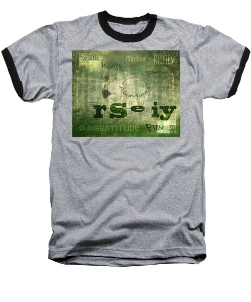 Green Knowings Baseball T-Shirt