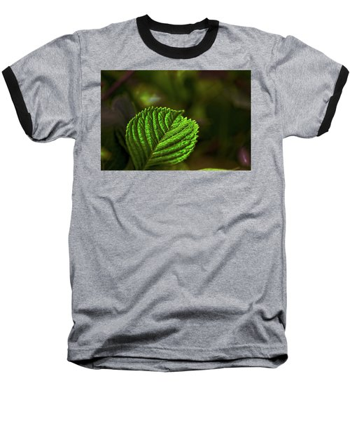 Green Leaf Baseball T-Shirt
