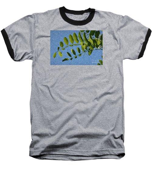 Green Leaves 2 Baseball T-Shirt
