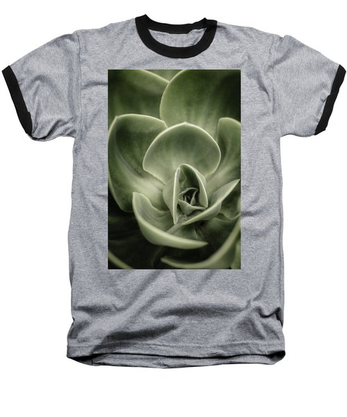 Baseball T-Shirt featuring the photograph Green Leaves Abstract IIi by Marco Oliveira