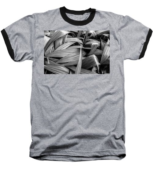 Leaves Textured And Background Baseball T-Shirt