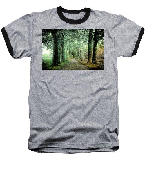 Green Magic Baseball T-Shirt by Annie Snel