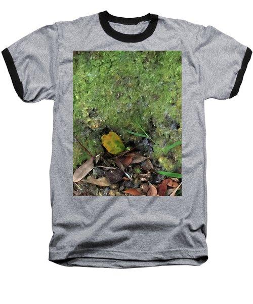 Green Man Spirit Photo Baseball T-Shirt by Gina O'Brien