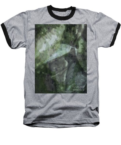 Baseball T-Shirt featuring the photograph Green Mist by Kathie Chicoine