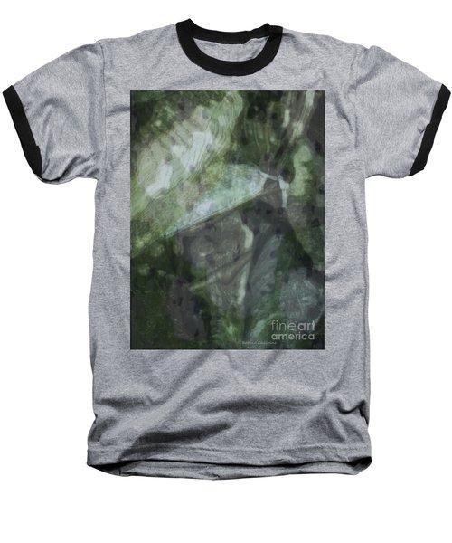 Green Mist Baseball T-Shirt by Kathie Chicoine