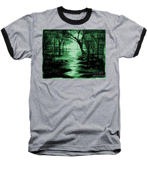 Green Mist Baseball T-Shirt
