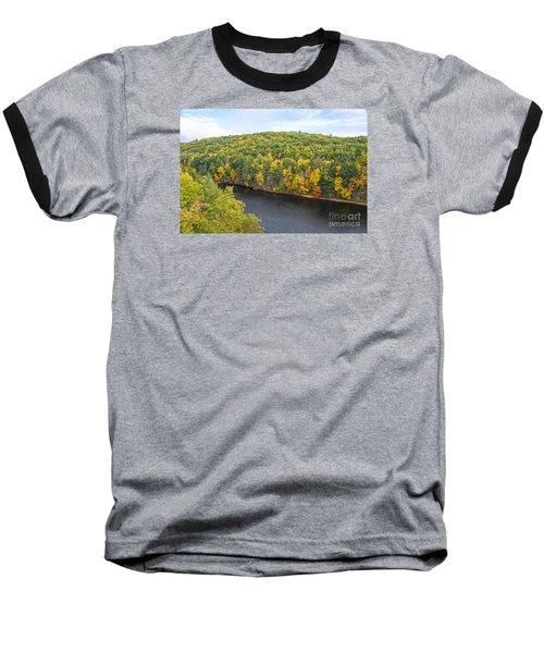 Green Mixture Baseball T-Shirt