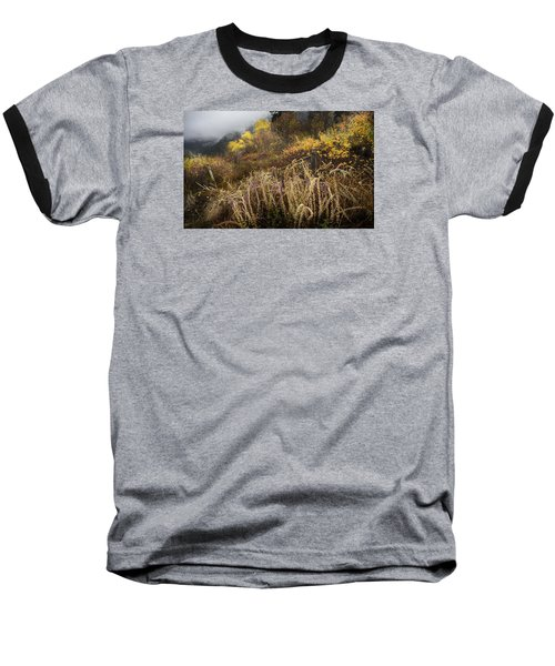 Green Mountain Dawn Baseball T-Shirt