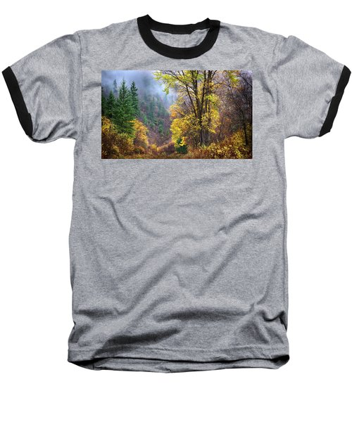 Green Mountain Fall Baseball T-Shirt