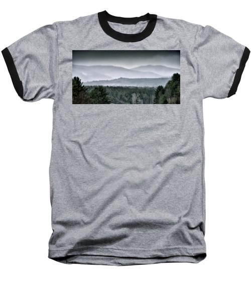 Baseball T-Shirt featuring the photograph Green Mountain National Forest - Vermont by Brendan Reals