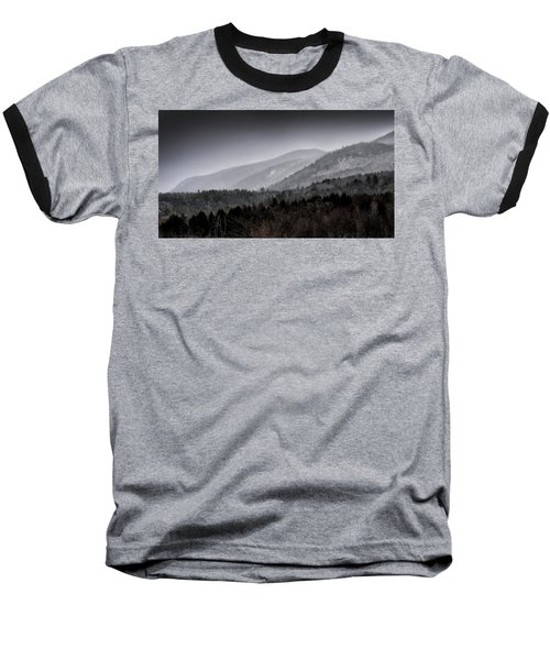 Baseball T-Shirt featuring the photograph Green Mountains - Vermont by Brendan Reals