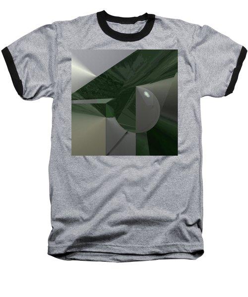 Green N Gray Baseball T-Shirt
