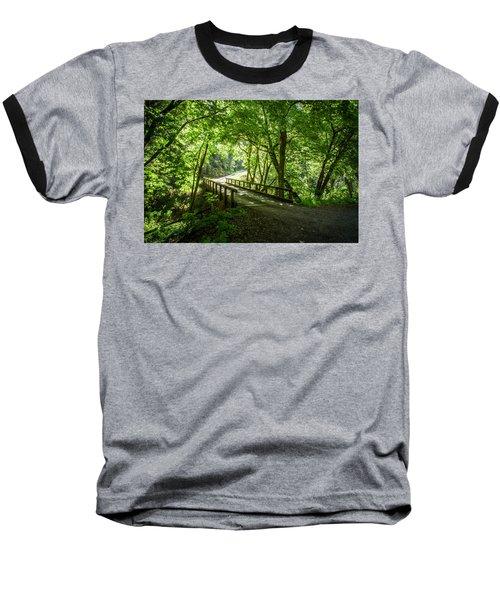 Green Nature Bridge Baseball T-Shirt