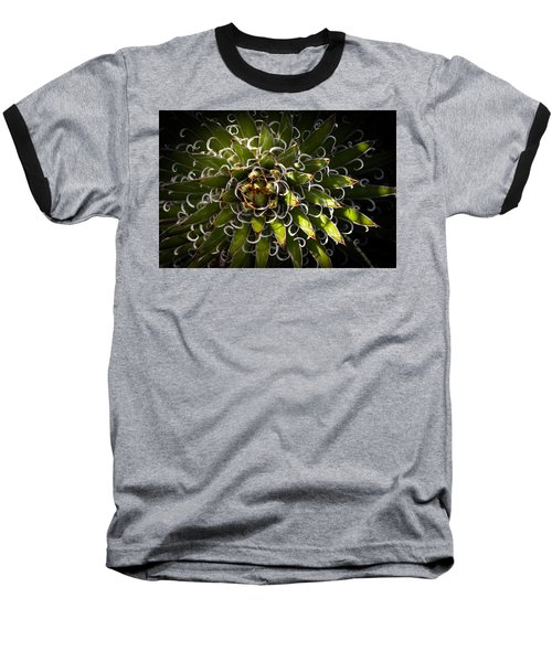 Baseball T-Shirt featuring the photograph Green Plant by Catherine Lau