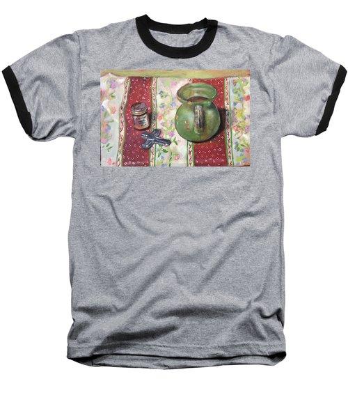 Green Pot Baseball T-Shirt