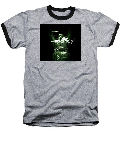 Green Baseball T-Shirt by Rajiv Chopra