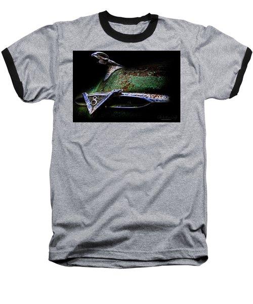 Green Ram Emblem Baseball T-Shirt