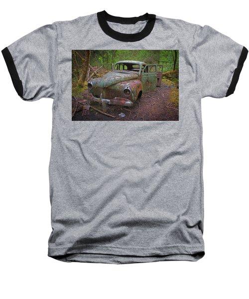 Green Relic Baseball T-Shirt by Cathy Mahnke