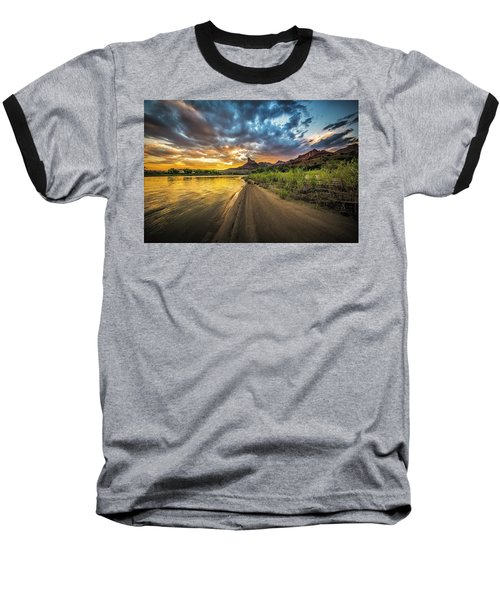 Green River, Utah 2 Baseball T-Shirt