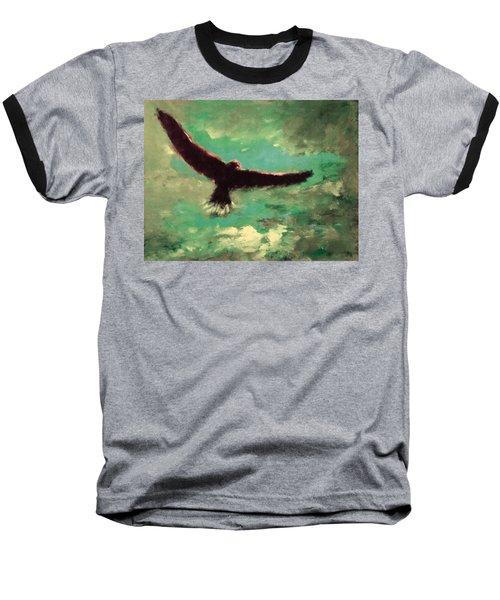 Green Sky Baseball T-Shirt