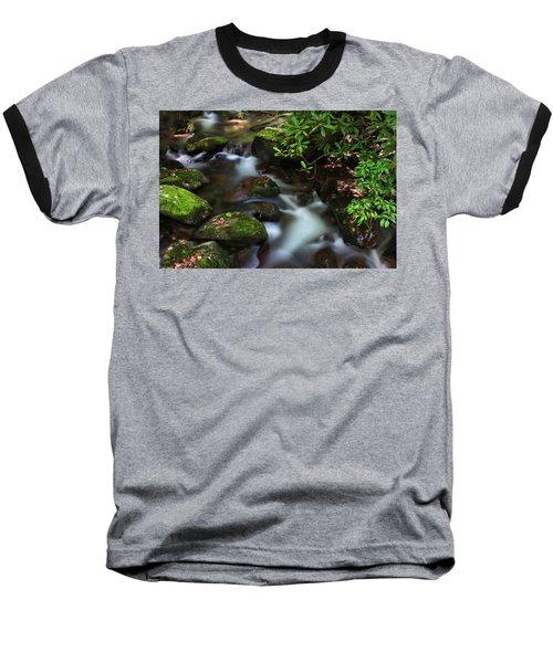 Green Stream Baseball T-Shirt