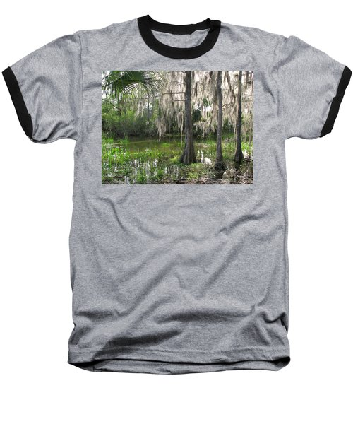 Green Swamp Baseball T-Shirt