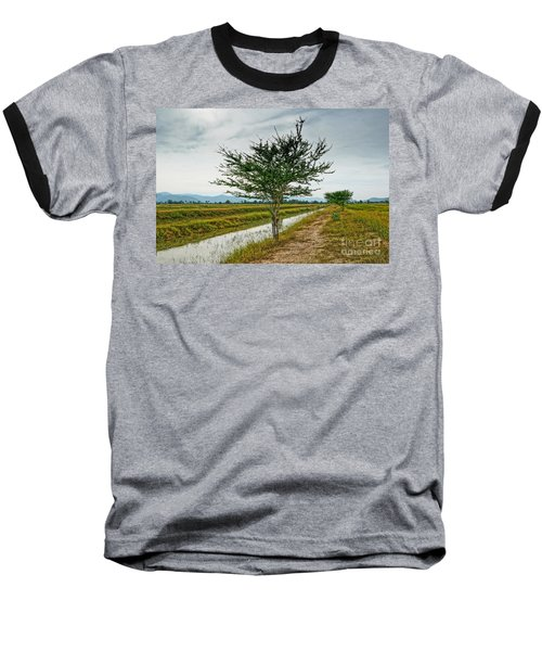 Green Tree Baseball T-Shirt