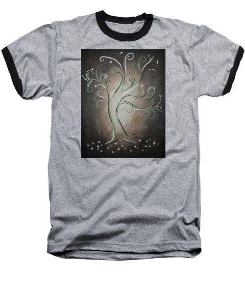 Green Tree Baseball T-Shirt