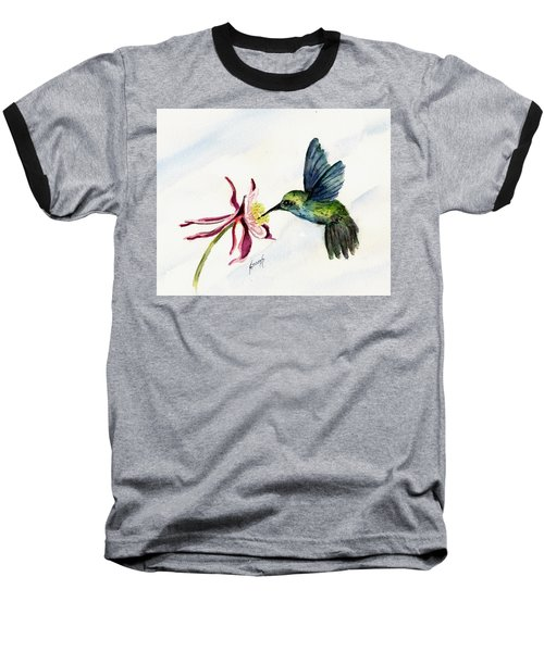 Green Violet-ear Hummingbird Baseball T-Shirt