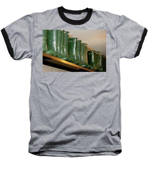 Green Wellies Baseball T-Shirt