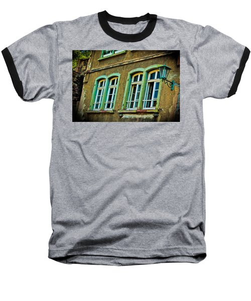 Green Windows Baseball T-Shirt