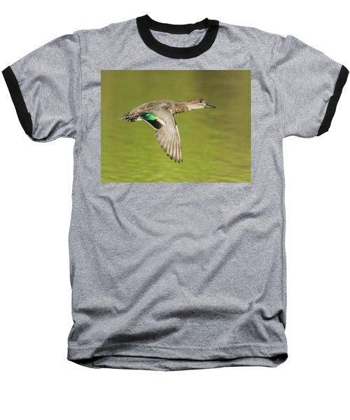 Green-winged Teal 6320-100217-2cr Baseball T-Shirt