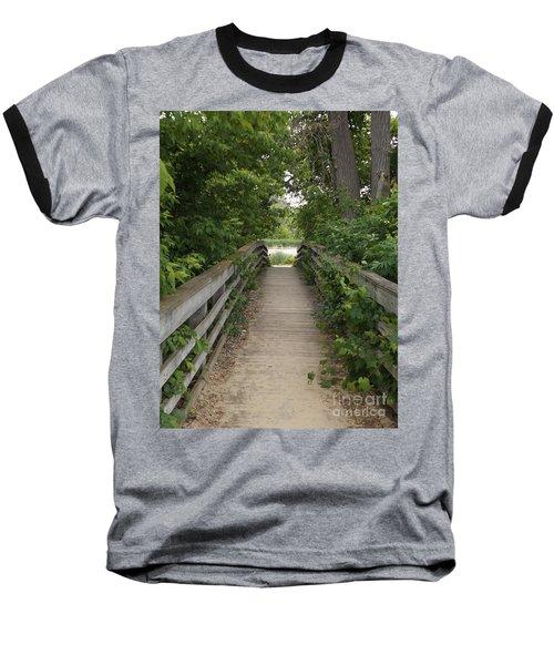 Greenery Bridge Baseball T-Shirt