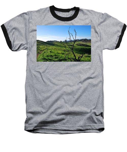 Baseball T-Shirt featuring the photograph Greenery In The Hills Landscape by Matt Harang