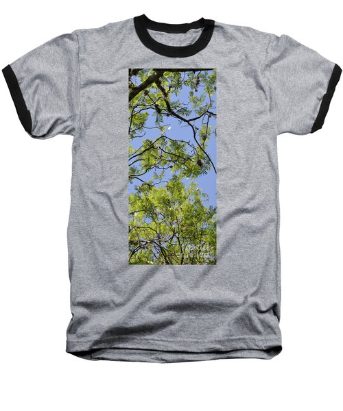 Greenery Right Panel Baseball T-Shirt