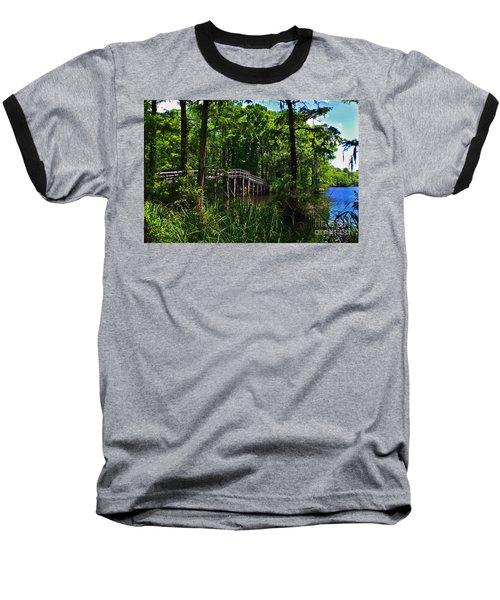 Greenfield Lake Bridge Baseball T-Shirt