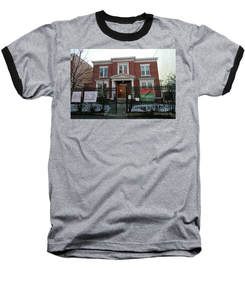 Greenpoint Reformed Church Baseball T-Shirt