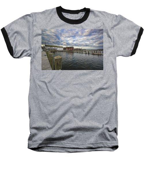 Greenport Dock Baseball T-Shirt