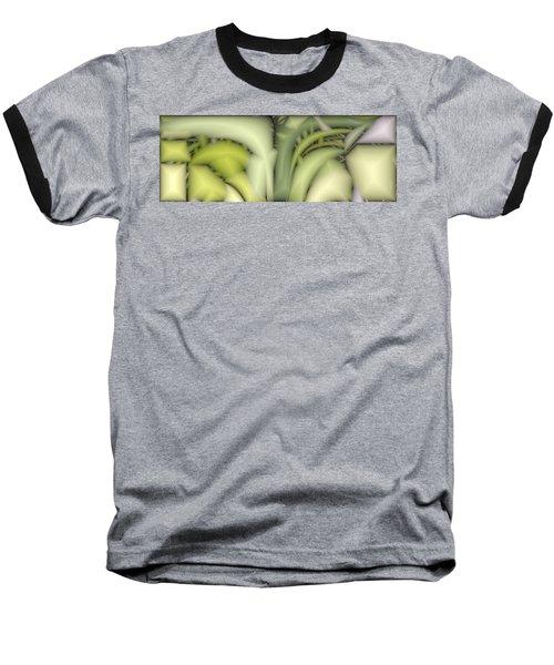 Greens Baseball T-Shirt by Ron Bissett