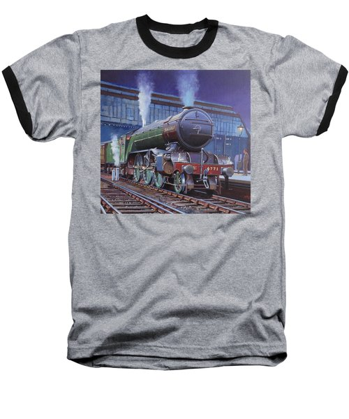 Gresley Green Arrow Class. Baseball T-Shirt by Mike  Jeffries