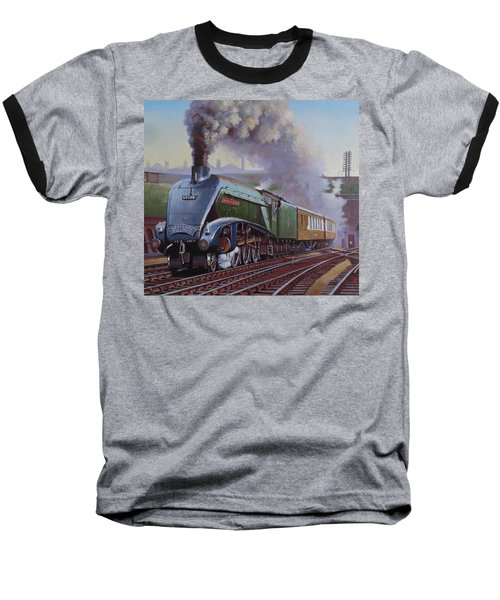 Gresley Pacific A4 Class. Baseball T-Shirt by Mike  Jeffries