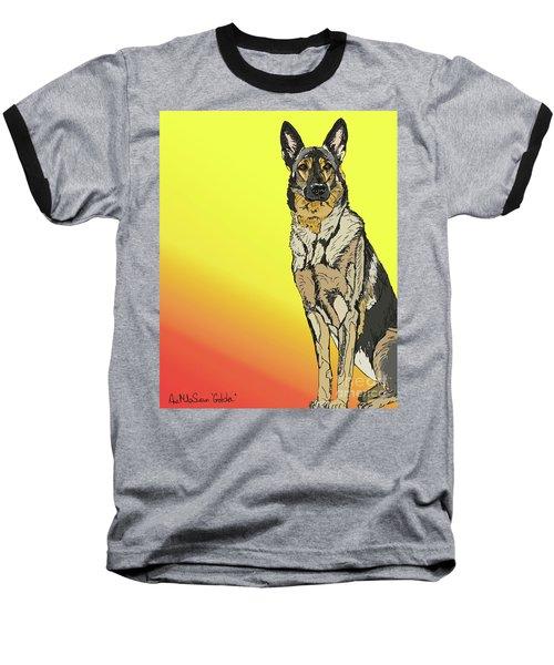 Gretchen In Digital Baseball T-Shirt